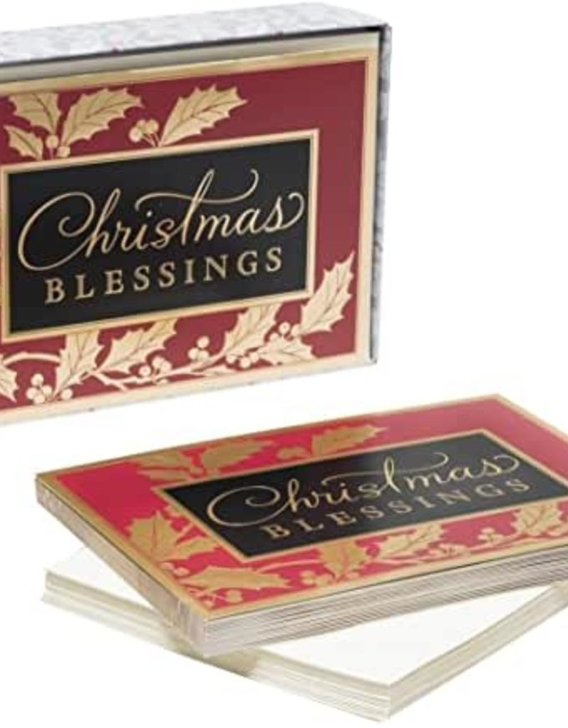 Cmas Boxed:  Christmas Blessings  87180