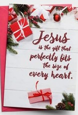 Cmas Boxed:  Jesus is the Perfect Gift  89082