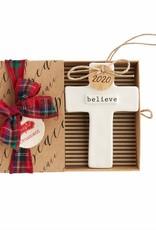 Cross Ornament- Believe