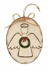 Oval Angel  Ornament