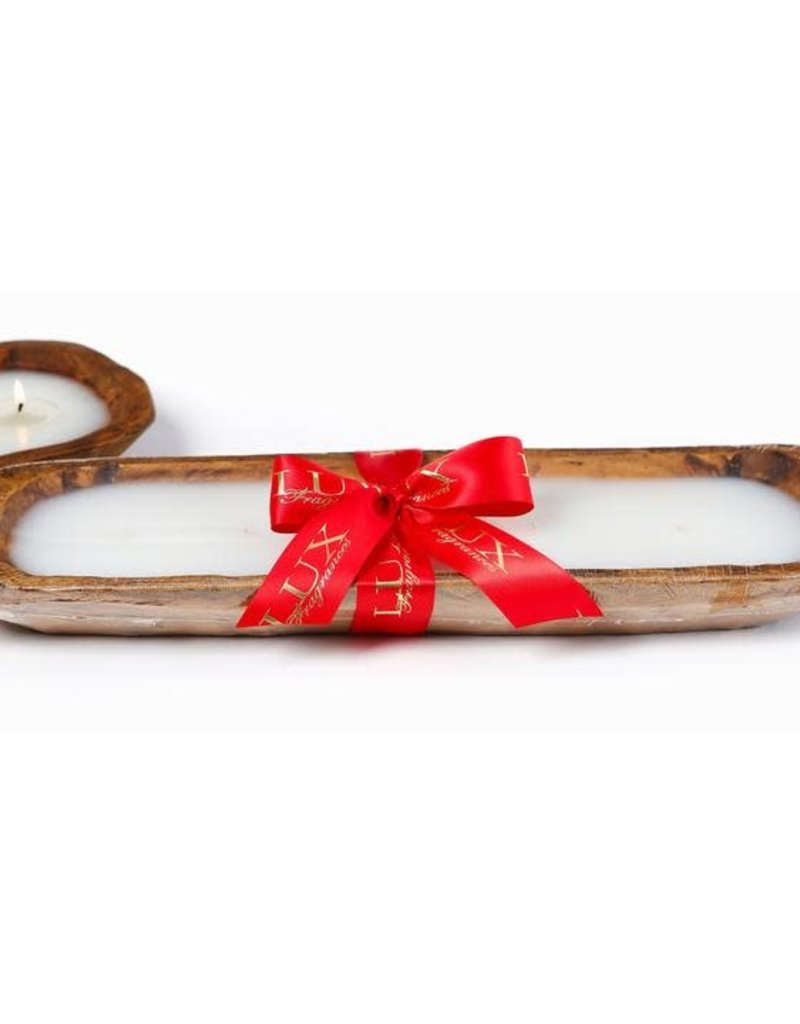 HOME FOR THE HOLIDAYS 5 WICK DOUGH BOWL CANDLE