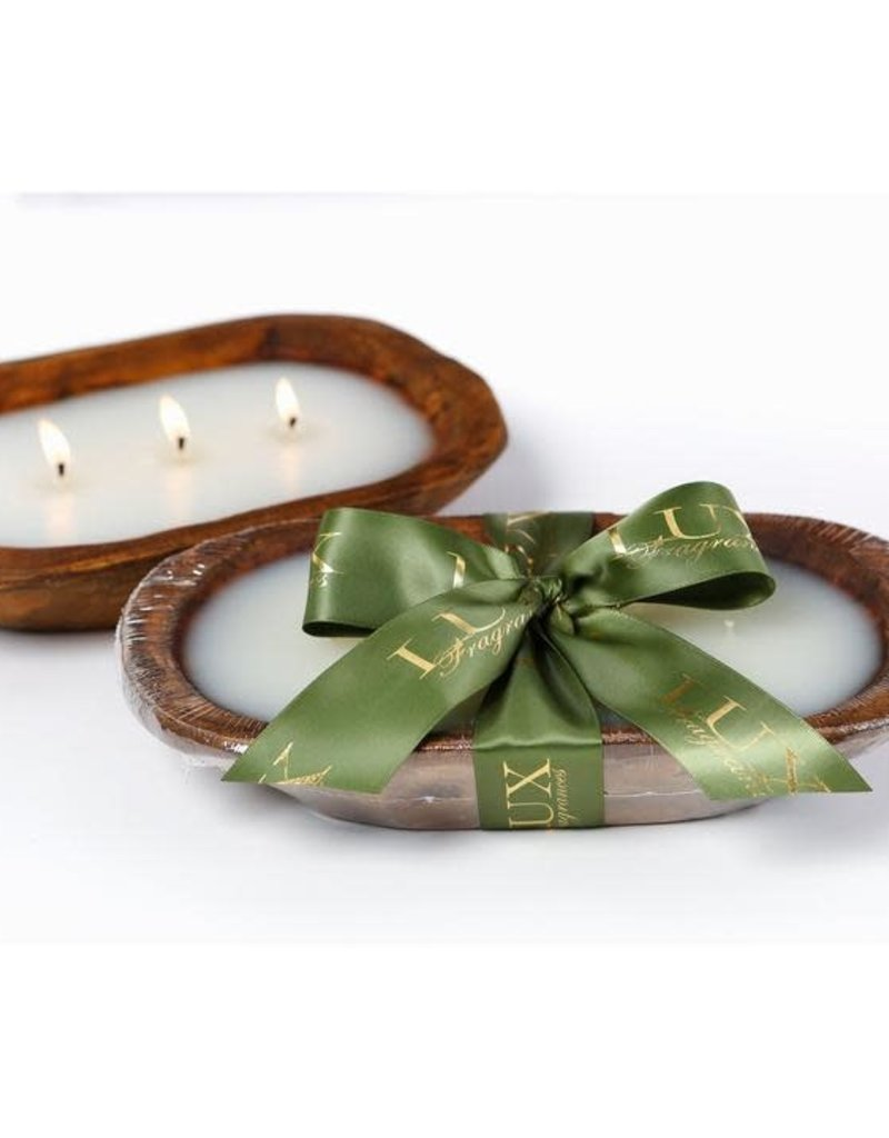 NOBLE FIR 3 WICK DOUGH BOWL CANDLE