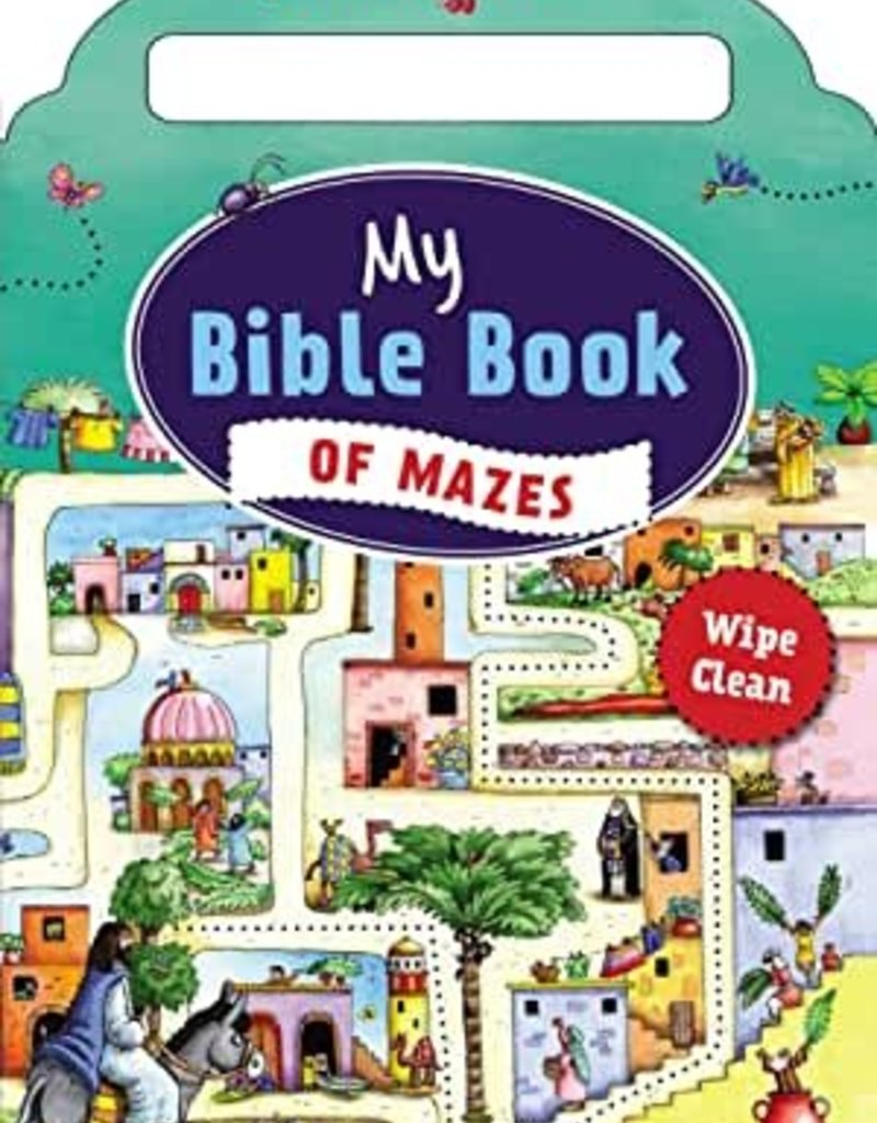 My Bible Book Of Mazes (May 2019)