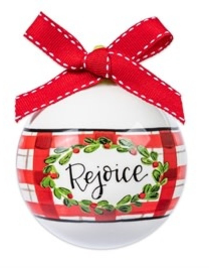 Rejoice Ball Ornament
