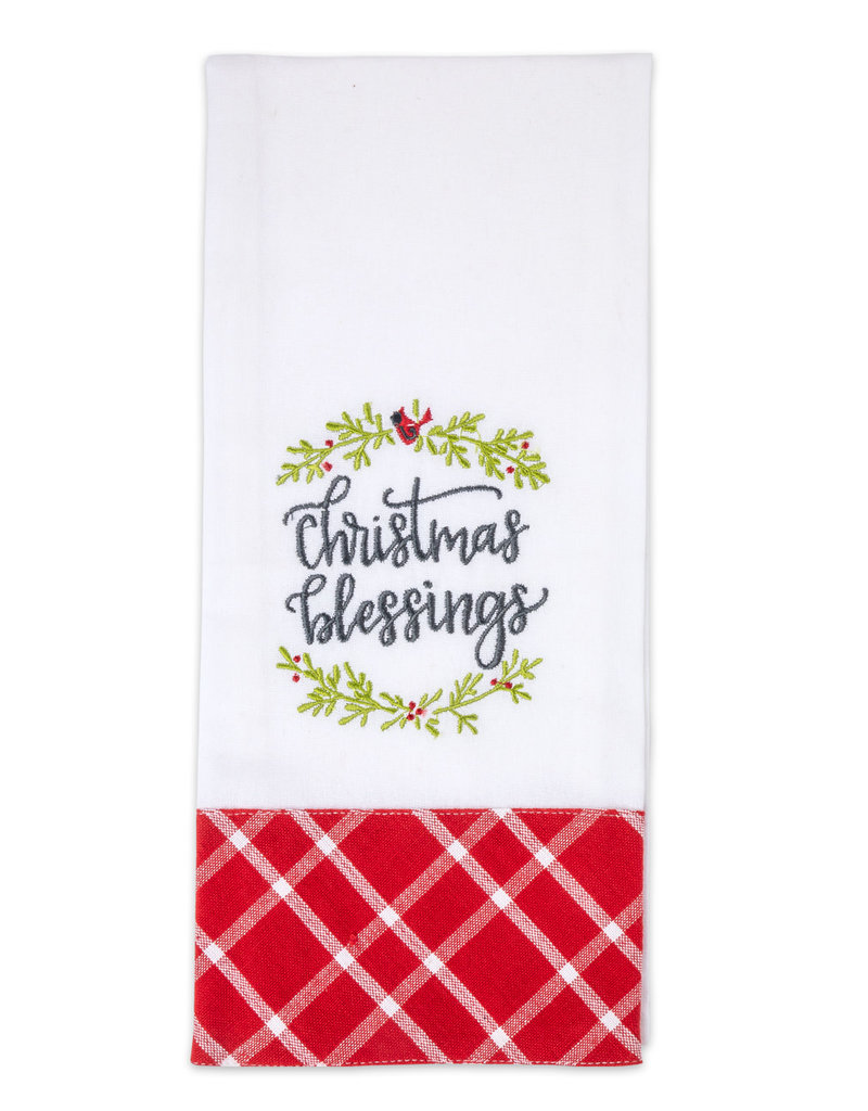 Christmas Blessings Tea Towel