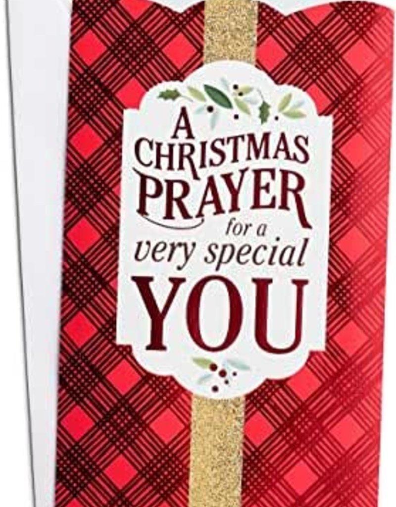 Card-Boxed-Christmas Prayer Money Card (Box Of 10)
