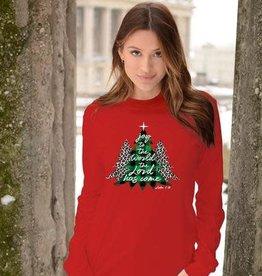 Joy to the World Trees LS Shirt