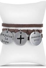 Token Bracelet- Rejoice in Hope