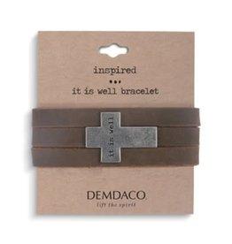 Wrap Bracelet- It is Well