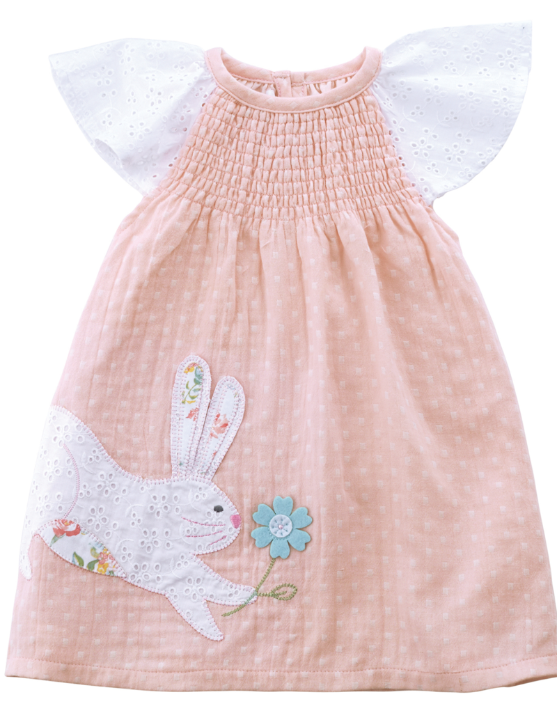 BUNNY SMOCKED DRESS (12-18 Months)