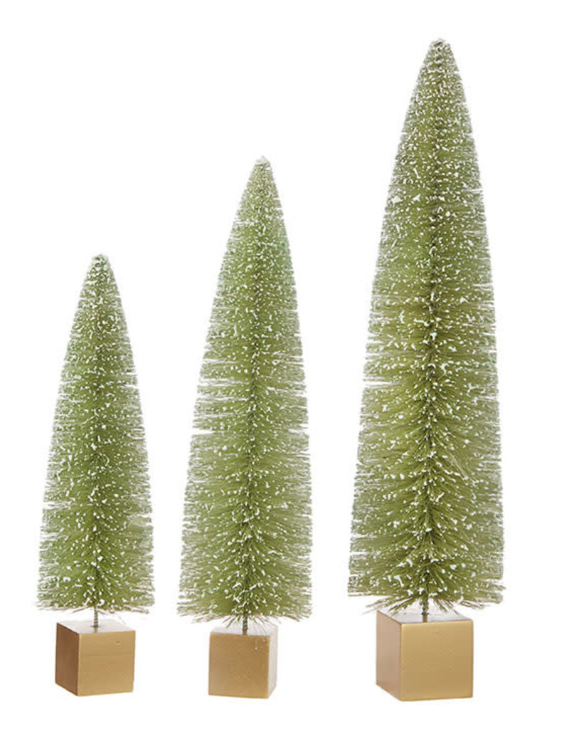 Bottle Brush Tree (set of 3)
