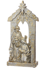 """22"""" Holy Family- Gold & Silver"""