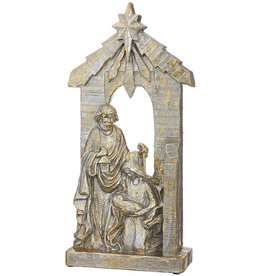 "22"" Holy Family- Gold & Silver"