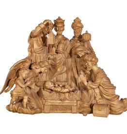 "32"" Bronze Nativity"