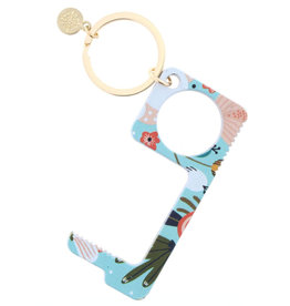 Pinit Floral Touchless Key Keychain