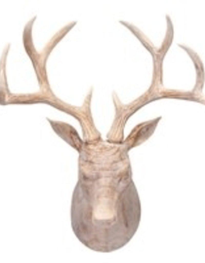 """Deer bust 18.5"""" Resin"""