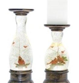 Snow GLobe Candle Holder (Set of 2)