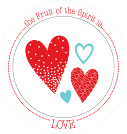 BOWL -FRUIT OF THE SPIRIT IS LOVE