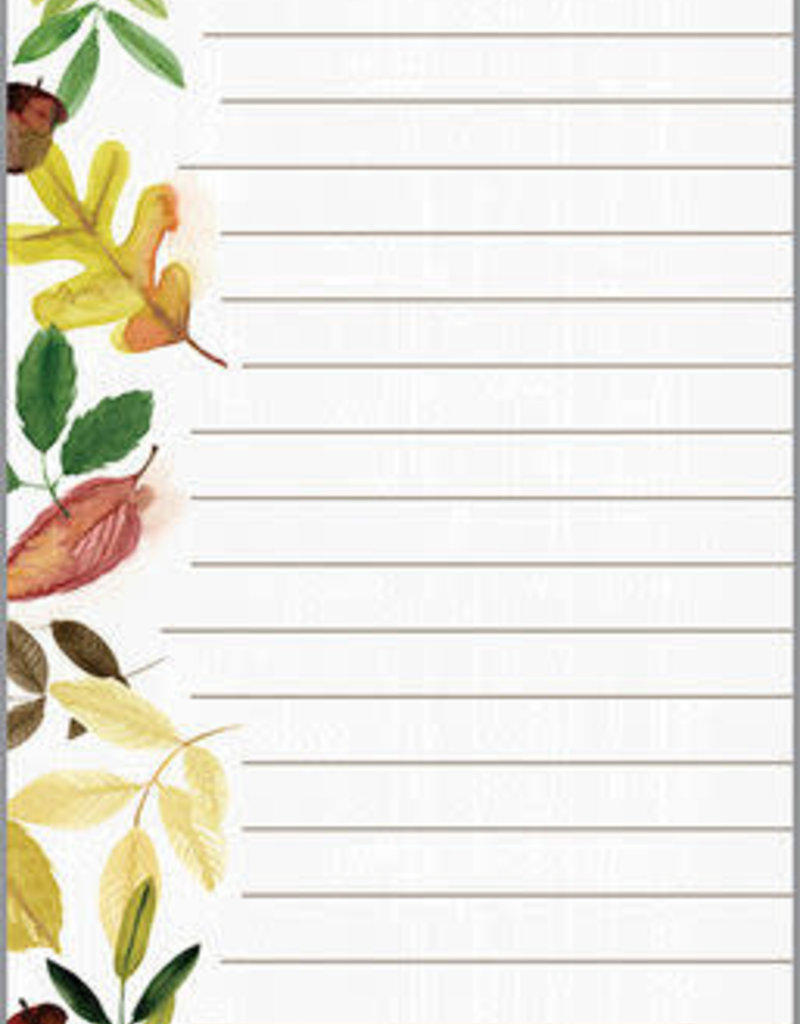 FALL LIST GATHER LEAVES