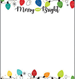 CMAS MEMO PAD-BRIGHT LIGHTS