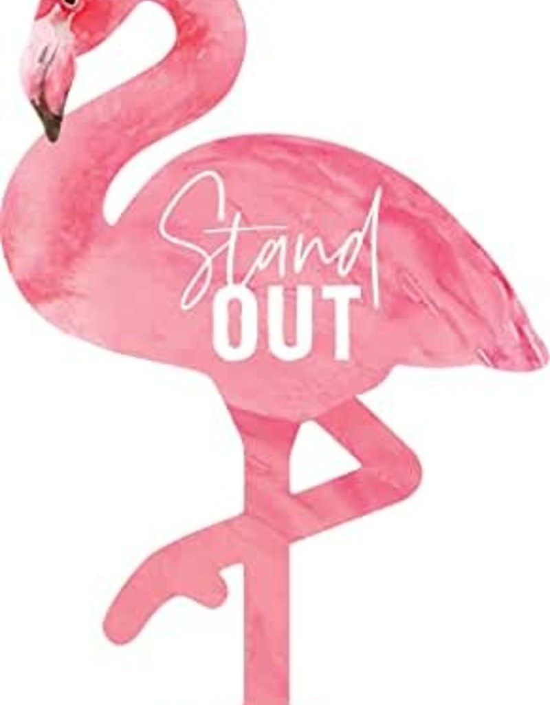 Stand Out Flamingo Magnet