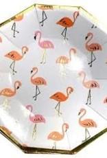 Flamingo Paper Plate Set- 8 count