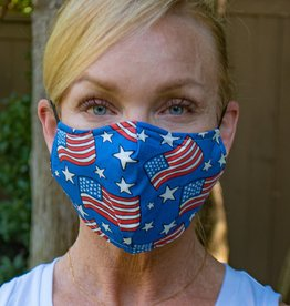 Face Mask - Patriotic Flags