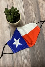 Face Mask- Texas Flag