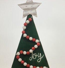 Joy Christmas Tree Topper