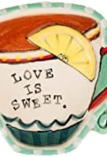 Dish-Love Is Sweet w/Teacup