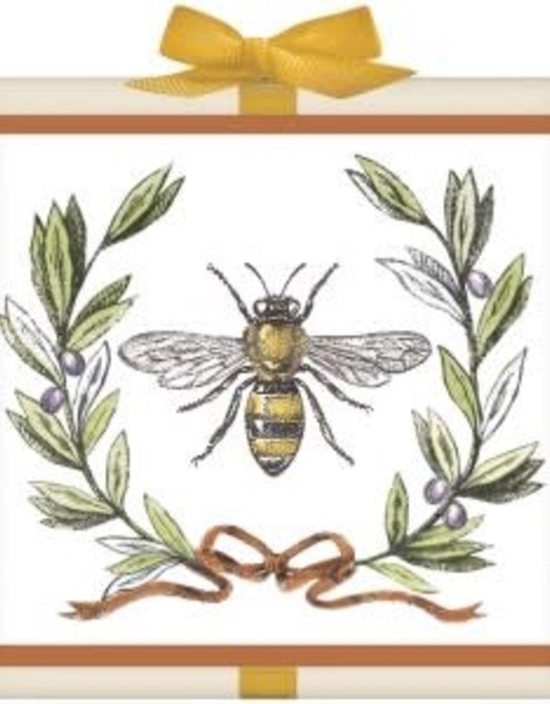 Bee Olive Wreath Tea Box