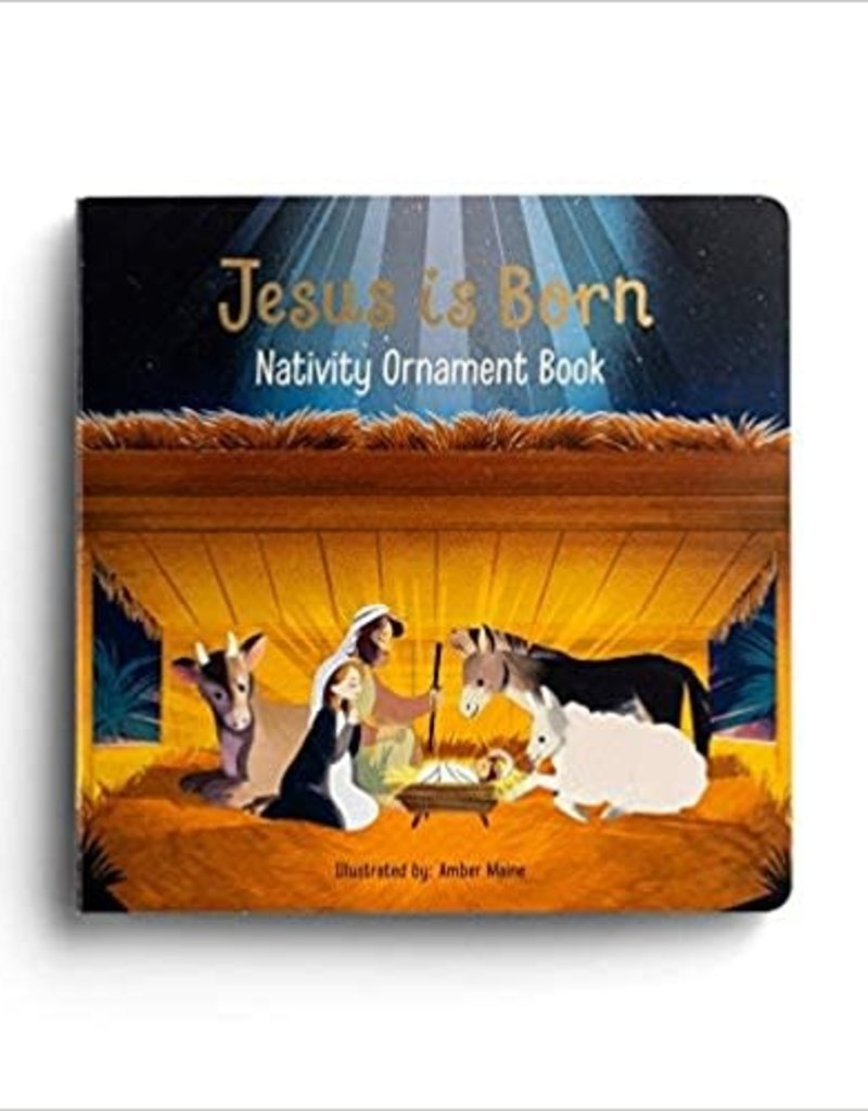 Jesus is Born Ornament Book