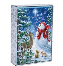 Cmas Boxed:  Snowman Gazer & Friends
