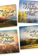 Scenery Scripture Coasters, Set of 4