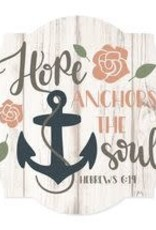 Hope Anchors the Soul Wall Art