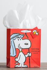 Gift Bag-Specialty-Good Tidings-Peanuts-Luke 2:10-Medium