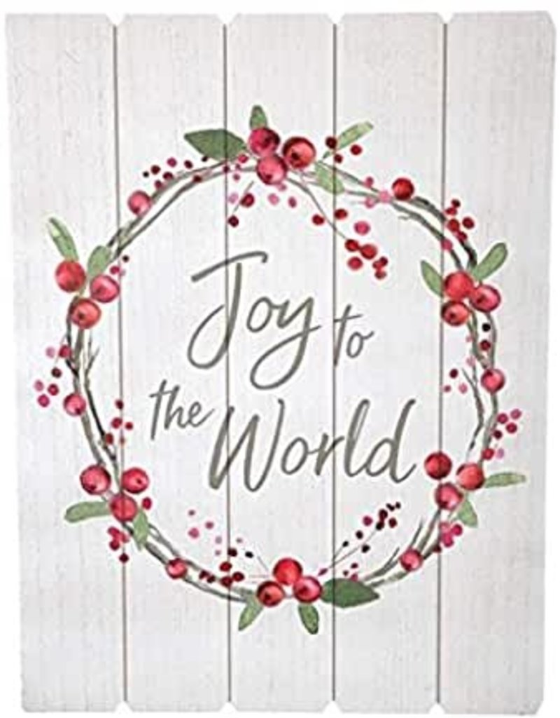 Wall hanging Joy to the World