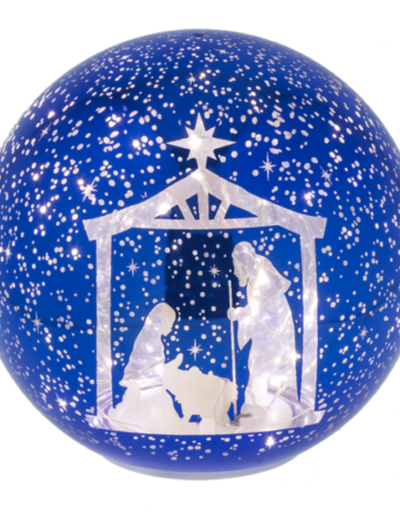 LED Nativity Light Up Ball