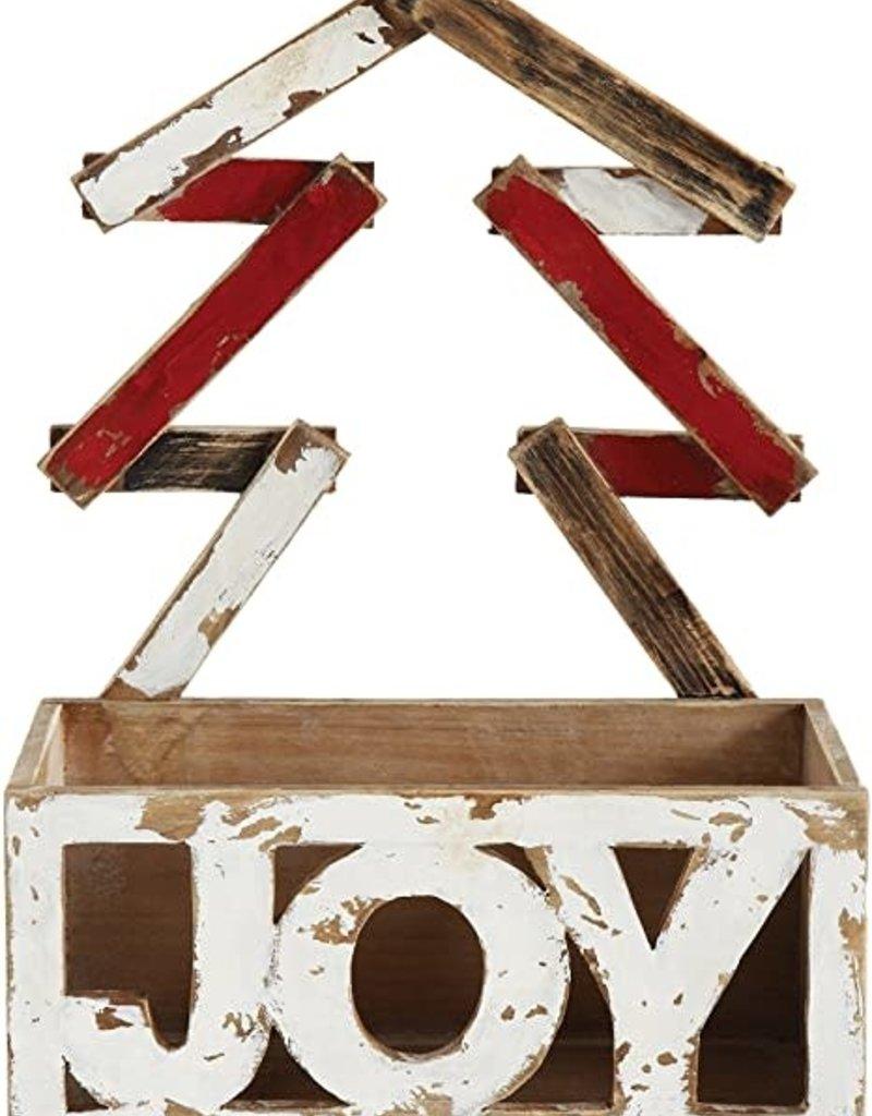 CMAS JOY WOOD BOX W/ A TREE HANDLE