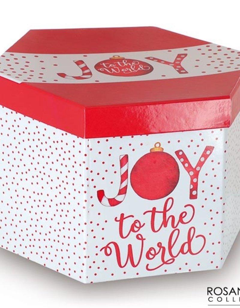 Joy to the World Ornament Gift Box Set
