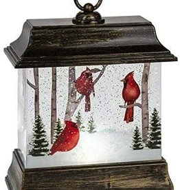 Cardinal Lantern Acrylic