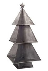 "32"" Tin Christmas Tree Display"