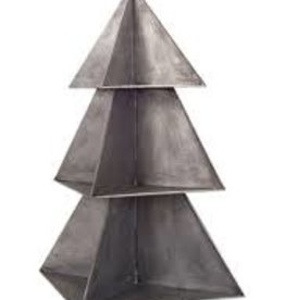 "26"" Tin Christmas Tree Display"