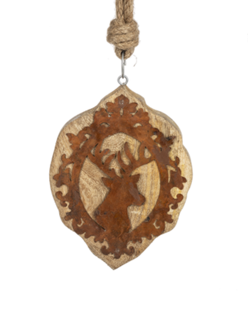 Stag Wood Ornament