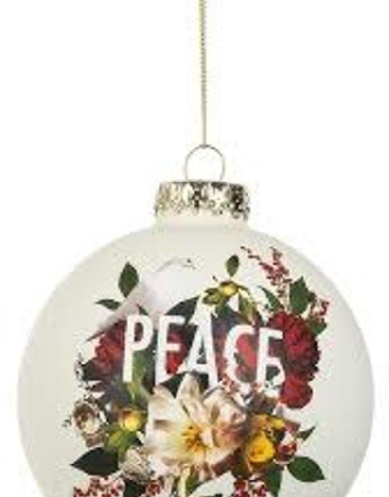 Peace Cardinal Ornament