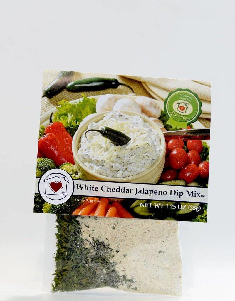 Gourmet Dip Mix- White Cheddar Jalepeno