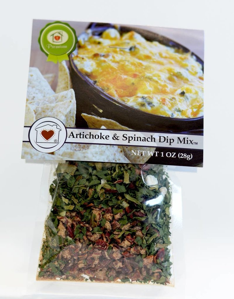 Gourmet Dip Mix Artichoke Spinach Prestonwood Bookstore