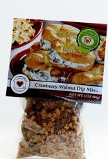 Gourmet Dip Mix - Cranberry Walnut