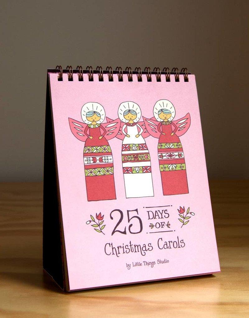 25 Days of Christmas Carols Advent Calendar
