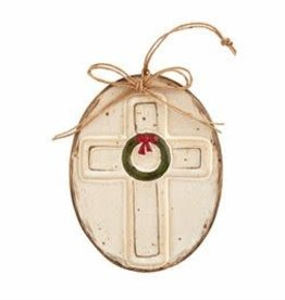 Cross Farmhouse Ornament